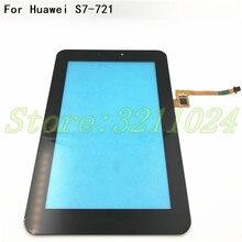 Nowy dla Huawei Mediapad 7 Youth2 młodzieży 2 S7 721U S7 721 ekran dotykowy szkło digitizer panelem dotykowym tabletu w celu uzyskania