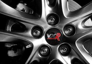 Image 4 - Dla Vauxhall Insignia Astra Corsa Mokka Zafira Vectra Meriva Combo Aglia 56.5mm aluminium VXR środek koła samochodowego kołpaki naklejka