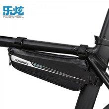 ROSWHEEL Профессиональный дорожный велосипед сумки корзины инструмент, отражающий Треугольники чехол Топ велосипед сумка Велоспорт велогонки сумка для хранения