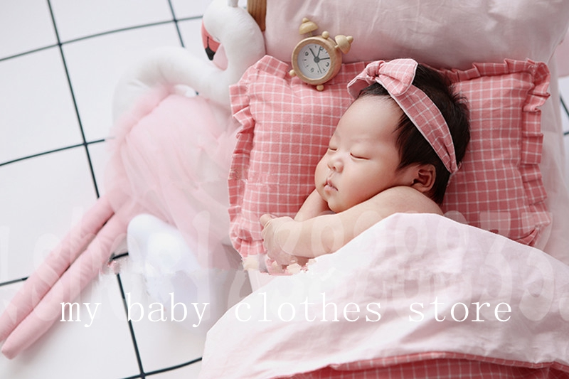 newborn photography props log cute small accessory matching baby mini props lovely  set