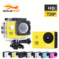 GOLDFOX 1 5 Inch Screen 720P HD Sport Action Camera 30M Go Waterproof Pro Outdoor Sport