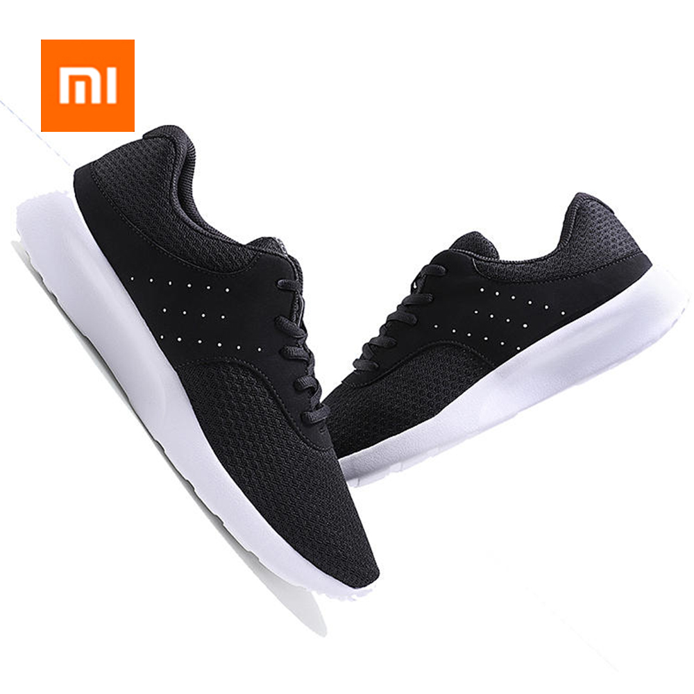 Xiaomi Men Sneakers Outdoor Light Breathable Running Shoes Comfortable Soft Casual Sport Shoes Black 40-44 Mi ShoesXiaomi Men Sneakers Outdoor Light Breathable Running Shoes Comfortable Soft Casual Sport Shoes Black 40-44 Mi Shoes