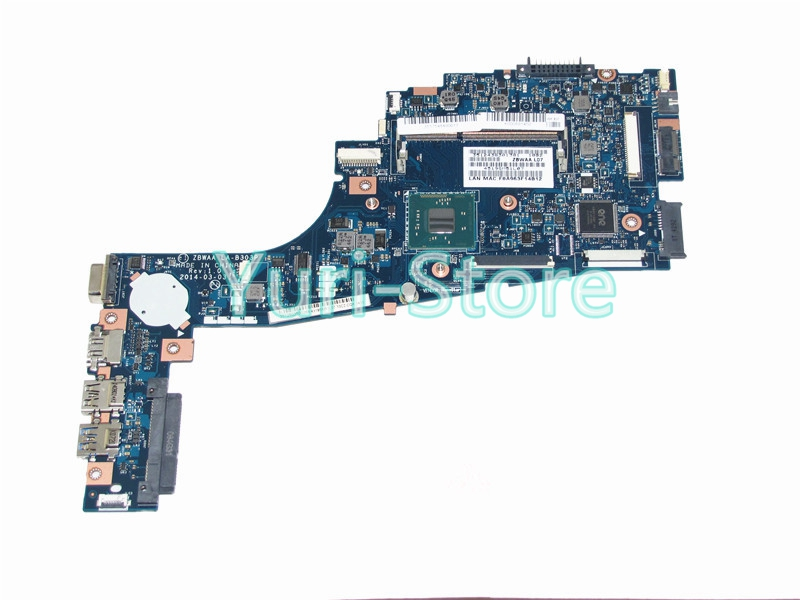 NOKOTION new ZBWAA LA-B303P  For toshiba satellite C55-B5202 C55 Rev 1.0 K000891450 Celeron N2840 SR1YJ DDR3 nokotion sps v000198120 for toshiba satellite a500 a505 motherboard intel gm45 ddr2 6050a2323101 mb a01