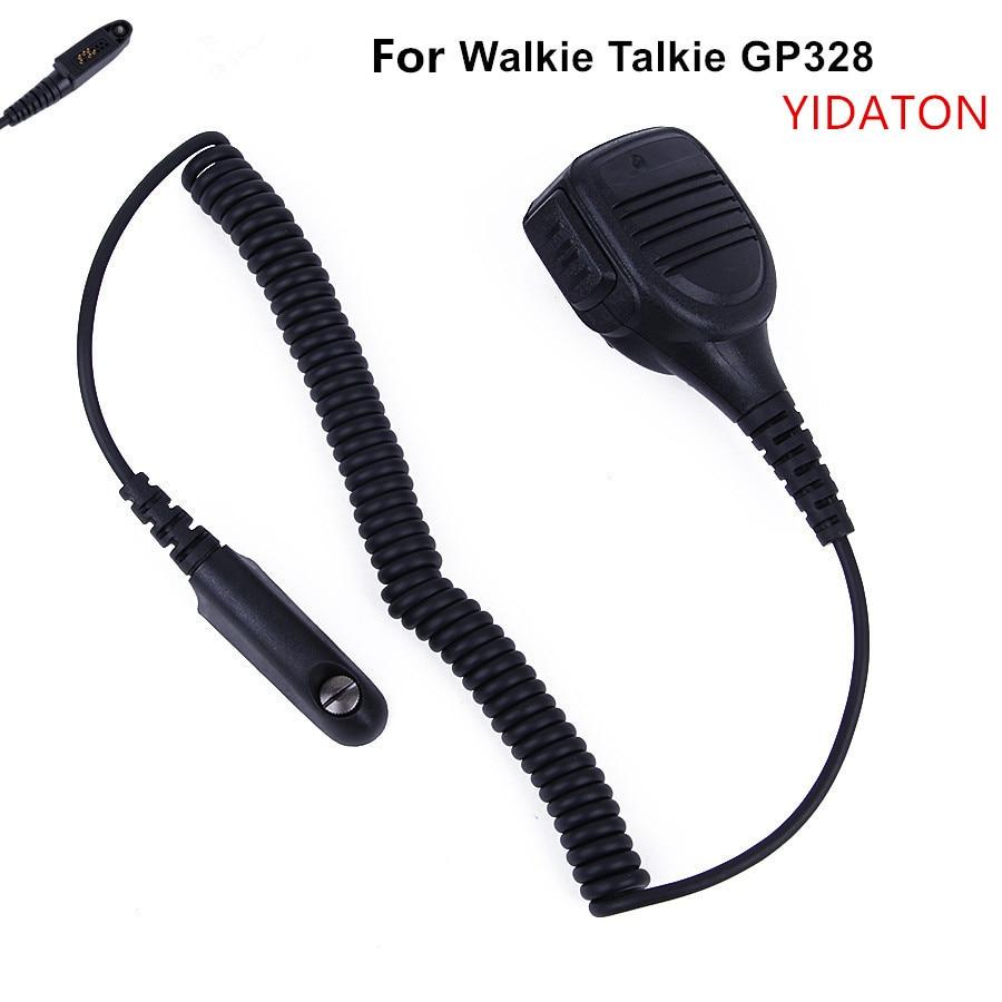 Schouder afstandsbediening speaker handheld mic microfoon voor motorola radio ht750 pr5150 gp328 gp338 gp340 gp380 gp320 ht1250 mtx850