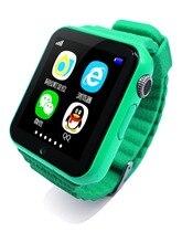 Купить GPS Smart Watch дети смотрят v7k с камеры/Facebook SOS вызова расположение devicertracker для малыша безопасный анти-потерянный Мониторы PK Q80 Q90