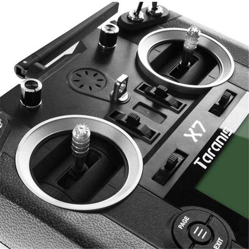 Livraison gratuite FrSky ACCST Taranis Q X7 2.4G 16CH Mode 2 télécommande émetteur blanc noir Version internationale - 6