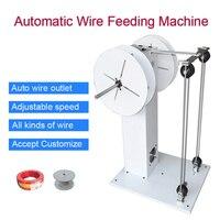 Automatische draht release maschine WF002 draht fütterung maschine für draht schneiden maschine und terminal maschine