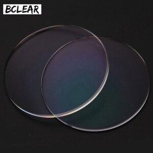 Image 3 - BCLEAR 1.61 مؤشر الراتنج العدسات البصرية عدسة UV400 عاكسة طلاء عدسة النظارات البصرية لقراءة الشيخوخي رقيقة الجودة