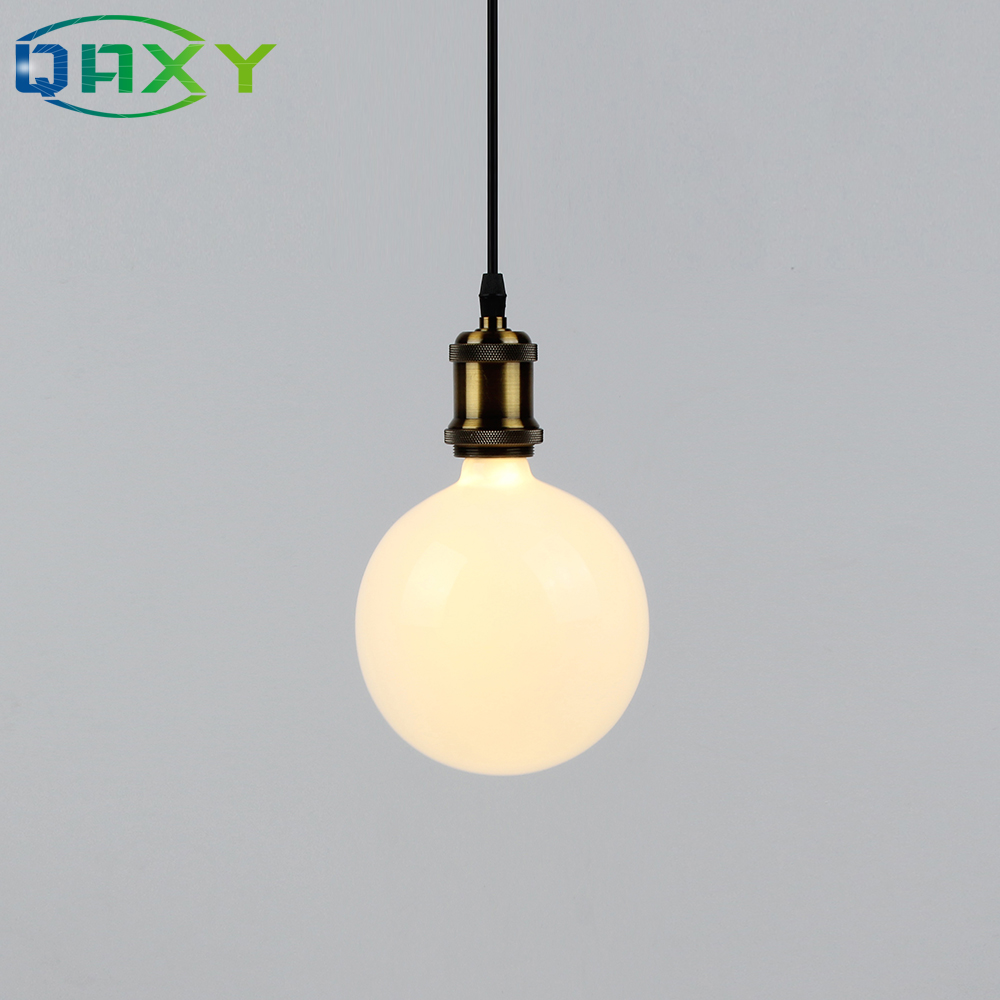 quot G quot Series Milky White Round Bulb E27 Hight Brightness LED Light Bulb Warm White Cool White Top Quality LED Bulbs D5304 in LED Bulbs amp Tubes from Lights amp Lighting