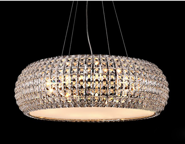 Top quality modern crystal chandelier light contemporary chandelier light lighting width 56cm 42cm and