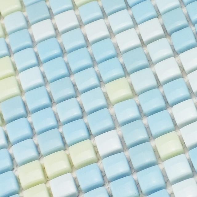 Light blue color mini 12x12mm full body ceramic mosaic tiles for light blue color mini 12x12mm full body ceramic mosaic tiles for bathroom shower wall tiles children aloadofball Gallery