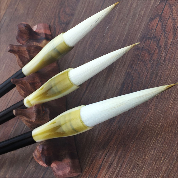 Free shipping 3PC/set 2017 Hot Chinese Calligraphy Brushes Pen for multiple Hair Writing Brush and Chinese painting calligraphy sunwayfoto indexing rotator ddp 64sx for panoramic head perfect for benro sirui manfrotto gitzo tripod href page 5