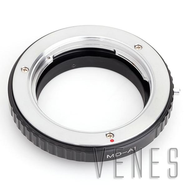 Mount Adapter Ring Suit For Macro Minolta MD Mount Lens to Nikon (D)SLR D810A D7200 D5500 D750 D810 D5300 D3300 Camera