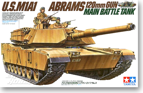 1/35 M1 A1 Abrams Main Battle Tank Model 35156