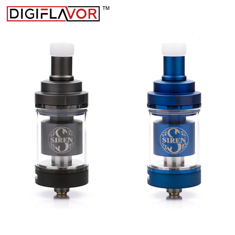 2pcs lot Digiflavor Siren V2 GTA MTL Tank 22mm 24mm Version 2ml 4 5ml Tank Airflow