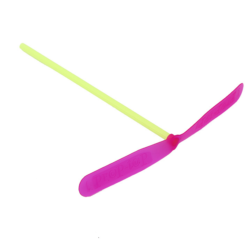 10ps//set Plastic Bamboo Dragonfly Propeller Outdoor Flying Birthday Toy for Kids