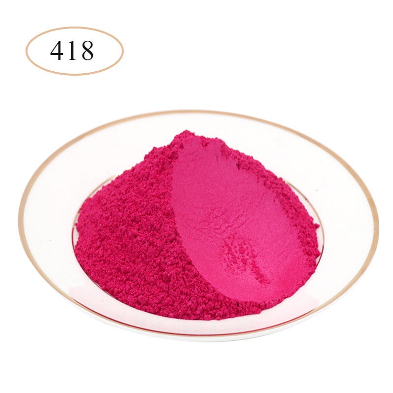 10g 50g Type 418 Pigment Pearl Powder Healthy Natural Mineral Mica Powder DIY Dye Colorant,use For Soap Automotive Art Crafts