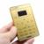 Original caliente aiek m3 solo sim mp3 gprs función de posicionamiento móvil táctil teclado tarjeta mini teléfono móvil gsm en stock