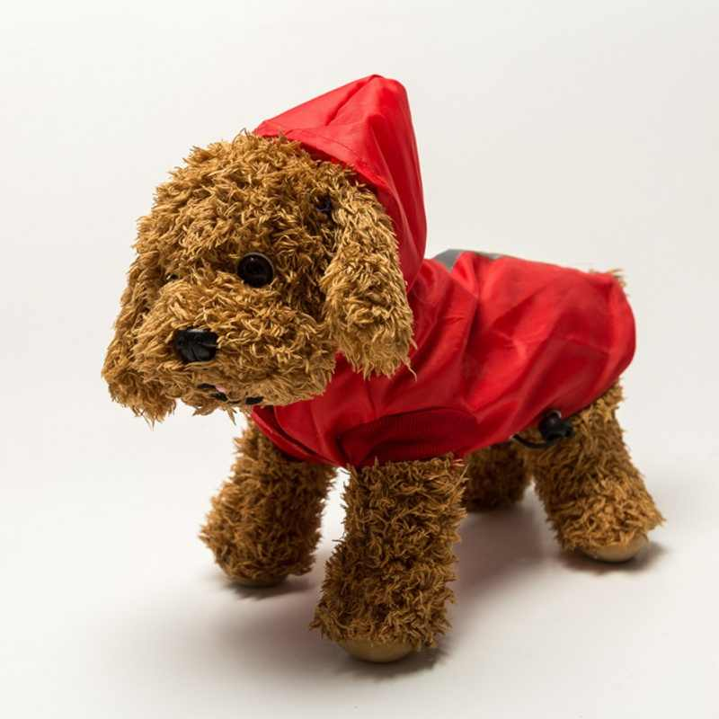 Creative Summer Outdoor Pet Dog Rain Coat Clothes Dog Puppy Casual Waterproof Jacket Costumes