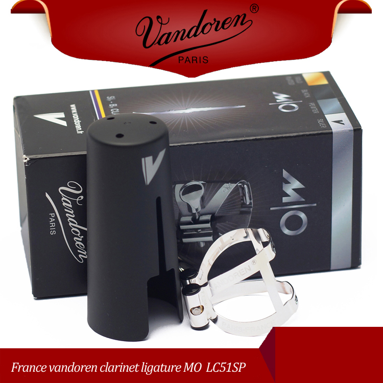 France vandoren clarinet ligature MO LC61SP metal ligature Silver plated ligature vandoren vandoren sr2225
