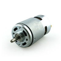 Single /Double axis 775 motor high speed high torque, 12V / 24V DC motor electric mill motor tool