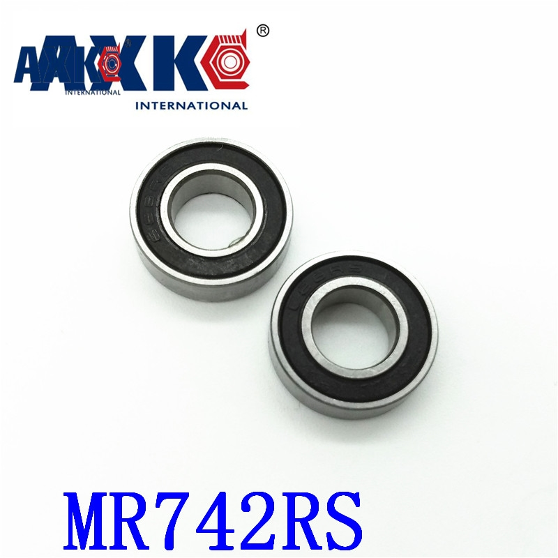 AXK Free shipping 50 piece/lot miniature bearing MR74-2RS,MR74ZZS 4X7X2.5mm Shigh precision free shipping 10pcs mr62zz mr63zz mr74zz mr84zz mr104zz mr85zz mr95zz mr105zz mr115zz mr83zz miniature bearing