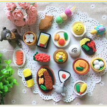 10pcs / lot , Delicious food eraser Chinese Food for kids as School Creative Stationary