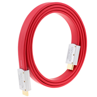 4K HDMI 2 0 Flat Cable Wire Male To Male With Metal Head 1m 1 5m