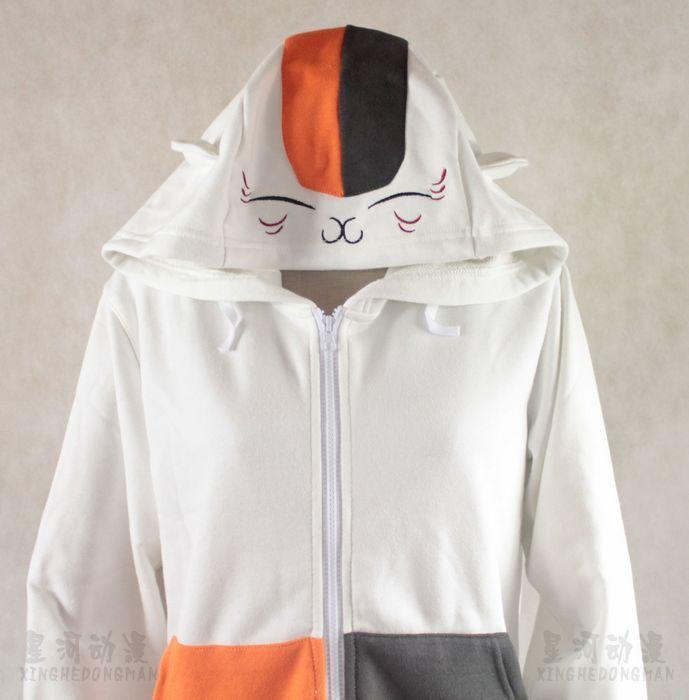 Anime Natsume Yuujinchou chat enseignant veste blanche Costume Cosplay manteau manteau pour fête d'halloween