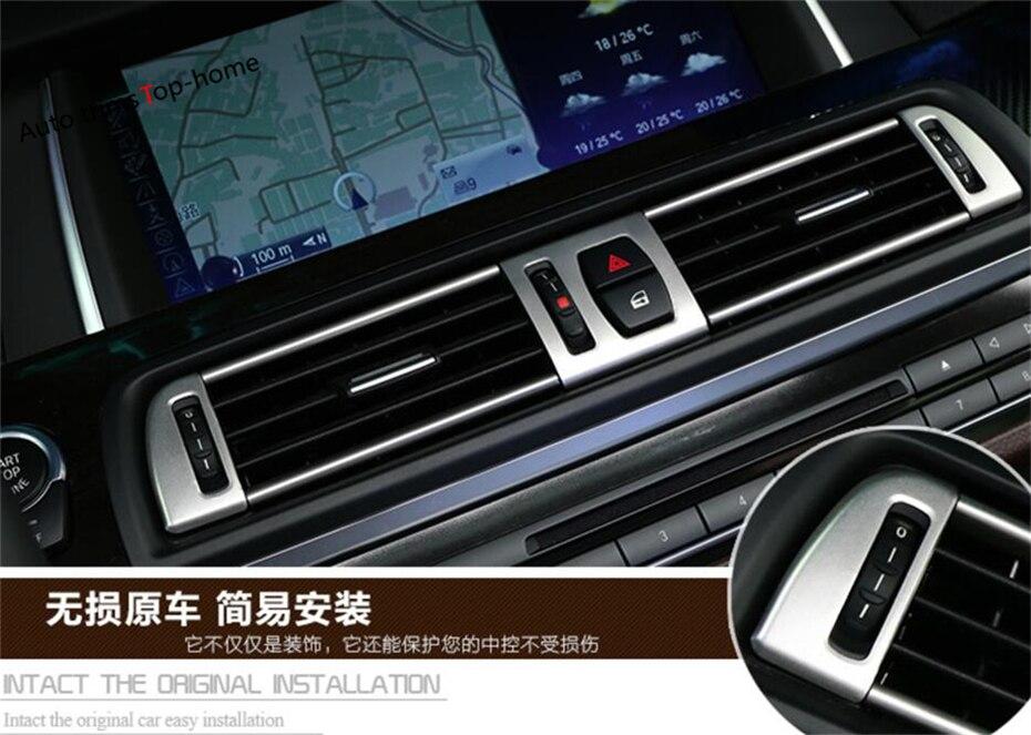 Pour BMW série 5 520i 525i 530i F10 F18 2011-2016 haute qualité avant climatisation AC sortie couverture garniture intérieure 13 pièces