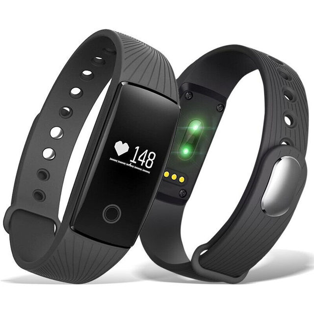 Wlngwear смарт-браслет V05C Часы Heart Rate Monitores удаленного Bluetooth Smart Браслет Шагомер Фитнес SmartBand напоминание