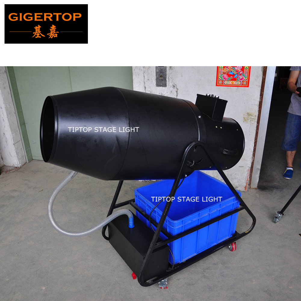 TIPTOP Huge Bubble/Foam Machine Electrical Manual Control High Volume Output Triangle Bracket Rolling Wheels Integral Oil Pump