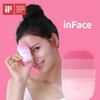 Xiaomi mijia inface pequeno instrumento de limpeza limpeza profunda sônica beleza facial instrumento limpeza rosto cuidados com a pele massageador
