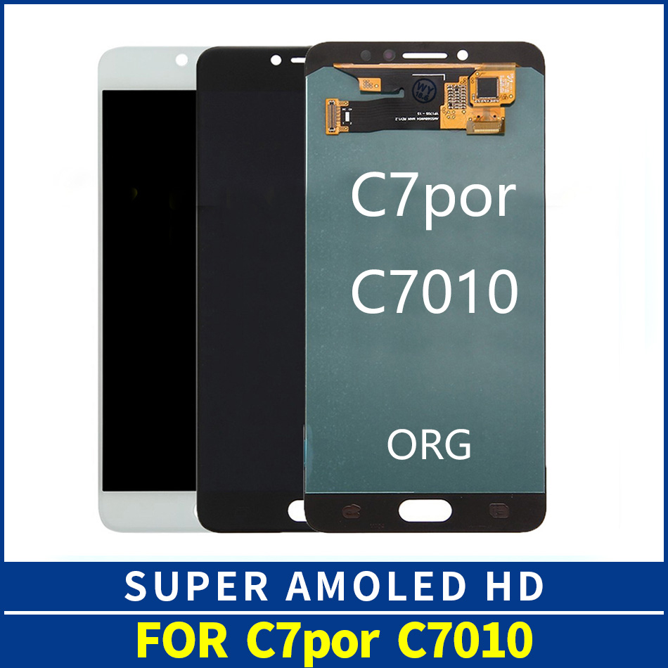 OEM AMOLED C7 Pro Lcd Display For Samsung Galaxy C7 Pro C7010 SM-C7010Z LCD with Touch Screen Digitizer Assembly ReplacementOEM AMOLED C7 Pro Lcd Display For Samsung Galaxy C7 Pro C7010 SM-C7010Z LCD with Touch Screen Digitizer Assembly Replacement