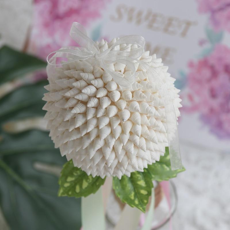 Besplatna dostava (2pcs / lot) Shell Flower Ball vrpce štapići - Kućni dekor - Foto 5