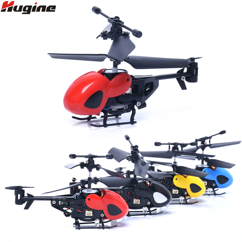 RC Helicopter Mini Drone Pocket Flight 2CH Remote Control Aircraft Anti Shake Charging UAV Electronic Hobby
