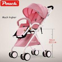 Чехол A06III двух направлениях Детские коляски может сидеть/лежат высокие LandSpace легкий вес складные коляски Детские коляски с сумка-шоппер