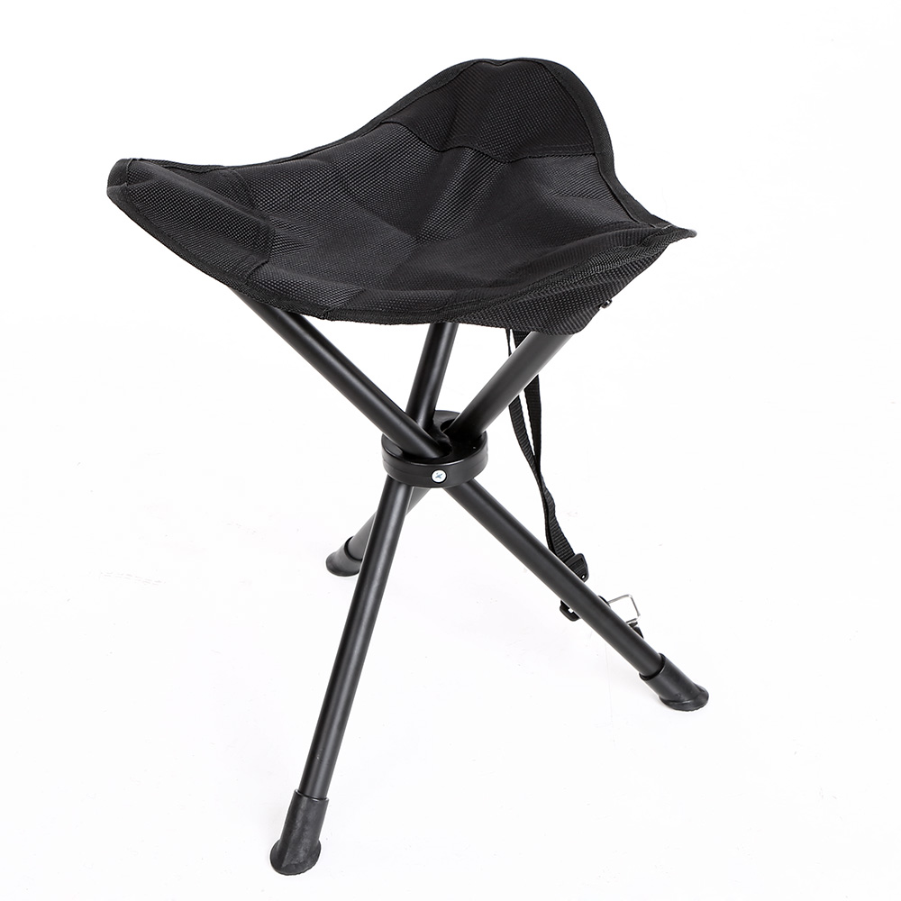 Portable Foldable Fishing Chair Stool Rest Seat Camping