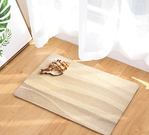 Image 5 - CAMMITEVER Sand Beach Sea Stars Mat Tapete Bathroom Kitchen For Bedroom Area Rug For Living Room