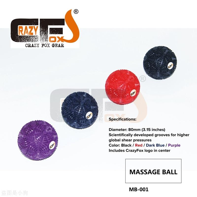 Crazy Foxs Massage Ball /Yoga Massage Ball Best Trigger Point Ball/Myofascial Release цена и фото