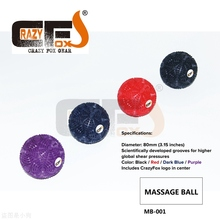 Yoga Massage Ball Best Trigger Point Ball, Myofascial Release, Muscle relaxation, Xrossfit massage ball / MOBILITYWOD SUPERNOVE