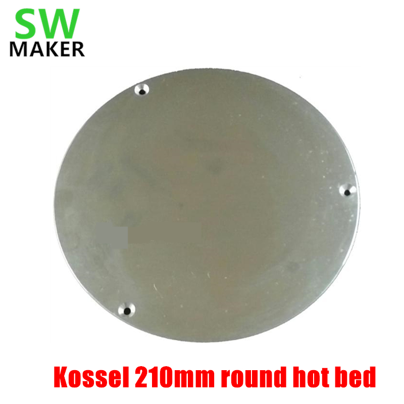 Computer & Office Office Electronics Hot Sale Swmaker Reprap Delta Rostock/kossel 3d Printer 200mm Round Heated Bed Insulation Plate 200mm Round Insulation Without Return