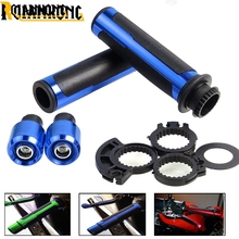 цена на 22mm 7/8 Motorcycle Handle bar  Handlebar Grips For Yamaha XJ6/DIVERSION XJR 1300/Racer XSR 700 900/ABS