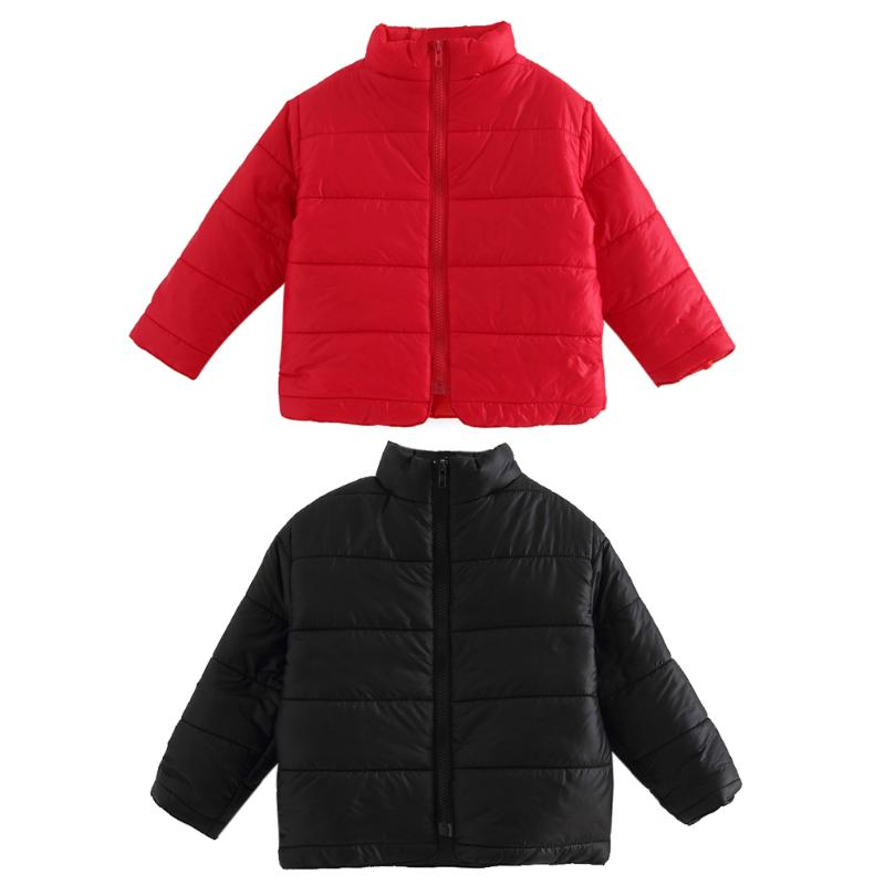 2017 New Children Baby Winter Cotton Padded Jacket Toddler Girls Boys Zipper Nylon Coat Fashion Outerwear Kids Parkas Clothes ring to rule them all 316l stainless steel ring black size 11 5