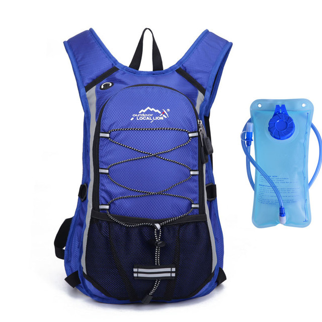 Hydration Riding Backpack With 2L Water Bladder Camelback Bicycle Waterproof  Walking Travel Backpack Bag 15L b1adc18531