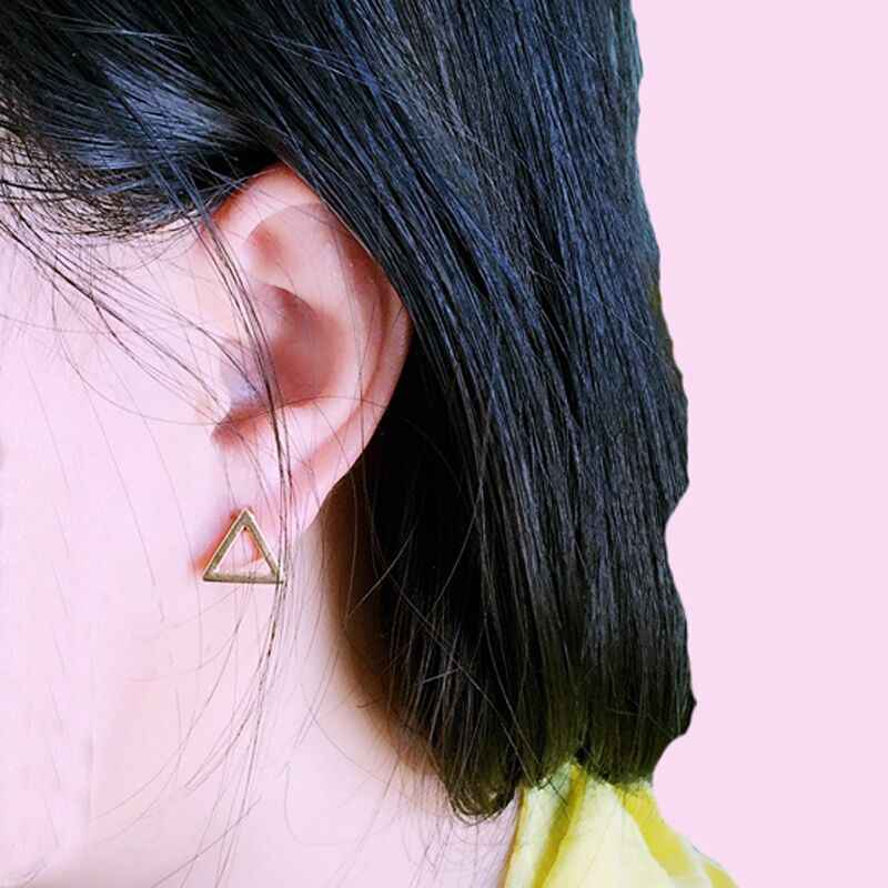 Brincos Ohrringe Aros Paar Tiny Bar Modische Ohrringe Stud Nette Ohrring Für Frauen Ohr Ringe Mode Schmuck Großhandel E0178