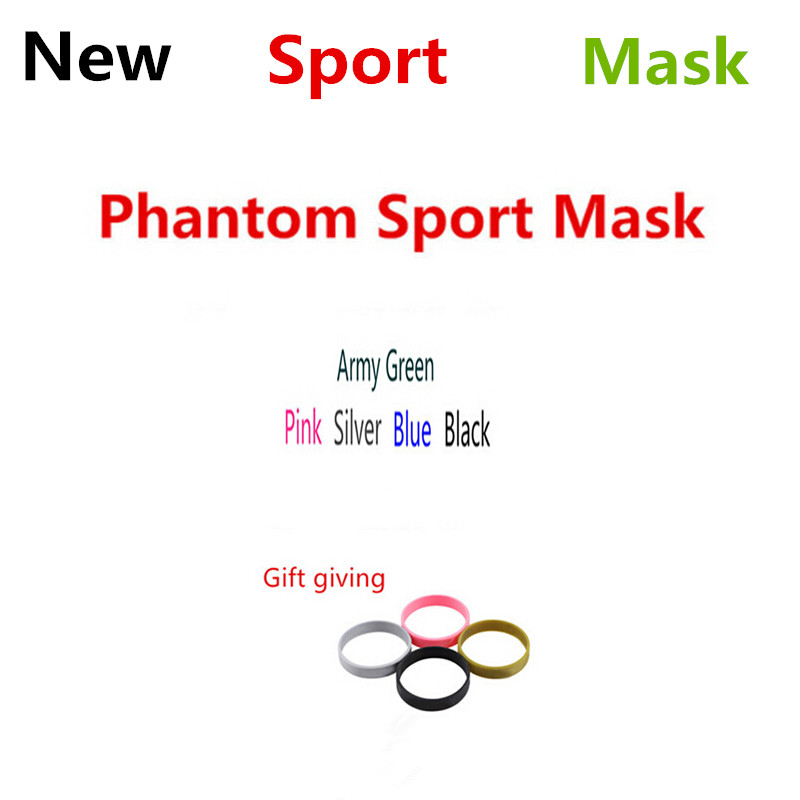 FDBRO Newes Black Silver Blue Pink Men Women Gym Phantom Outdoor Mask 2.0 Running Training Sport Fitness Mask Boxing игрушка ecx torment silver blue ecx03033t1
