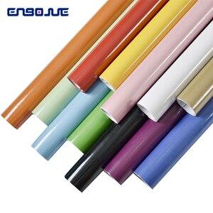 Image 3 - 0.4x5 M Mutfak Dolabı Su Geçirmez Çıkartmalar Mobilya Dolap Masa Kapı Kendinden Yapışkanlı Duvar Kağıdı Düz Renk Boya Duvar Sticker