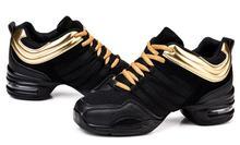 Akexiya las mujeres Oro Negro zapatos de baile zapatos damas Jazz Hip Hop  zapatos de baile 83f5ef57b57
