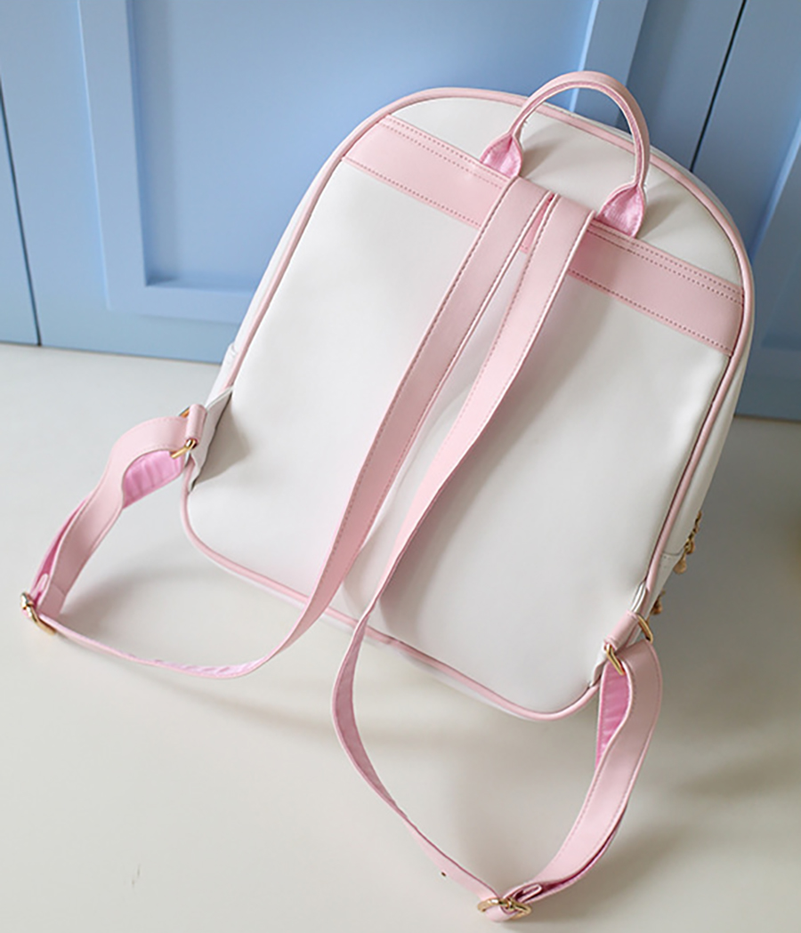 Brilljoy Backpack Cute Clear Transparent Bow Ita Bag Harajuku School Bags For Teenage Girls Rucksack Kids Kawaii Backpack Itabag